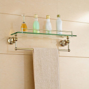 Bathroom Renovation Dresser Single Layer Stainless Steel Racks Bathroom Hardware Home Station,A,52 * 17 * 15CM