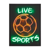 Xing Cheng Live Sports Home Wall Decors Wall Art LED Pictures With MDF backboard