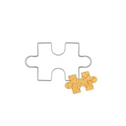 Stainless Steel Cookie Puzzle Shape Cookie Cutter Cake Fondant Decorating DIY Cake Mould