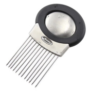 Onion Holder, Newness All-In-One Stainless Steel Onion Holder, Odour Remover & Chopper