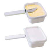 Smart Attachable Butter knife spreader | New Unique Design | Mr. Fridger | 403 Food Grade Stainless Steel | Best for Butter, Spread and more