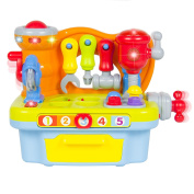 Fu T Engineer Multifunctional Kids Musical Learning Tool Workbench . to 3 Year Old