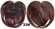Girls Hair Bangs Neat Fringe Hair Extensions Synthetic Hair Accessories