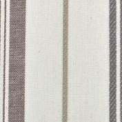 Porter & Stone - St Michel Stripe - Charcoal - Curtain Fabric - per metre