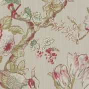 Porter & Stone - Renaissance - Rose - Curtain Fabric - per metre