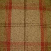 Porter & Stone - Balmoral - Rust - Curtain Fabric - per metre