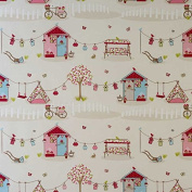 Laminated Cotton - Summer Holiday - Candy - per metre