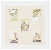 3dRose qs_79379_2 Alice in Wonderland Art- Children- Stories-Quilt Square, 15cm by 15cm