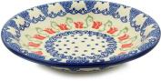 Polish Pottery Pasta Bowl 23cm