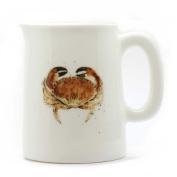 Crab Mini Jug - Quarter Pint Jug - Crab Gift - Fine Bone China