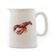 Lobster Mini Jug - Quarter Pint Jug - Lobster Gift - Fine Bone China