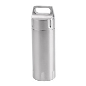 magideal 304 Stainless Steel Pill Capsule Bottle Camping Box Waterproof Box