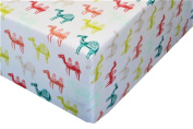 Colourful Camels 100% Polyester (FITTED SHEET ONLY) Size TODDLER Boys Girls Kids Bedding