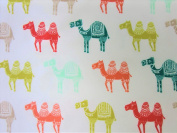 Colourful Camels 100% Polyester (FLAT SHEET ONLY) Size TODDLER Boys Girls Kids Bedding