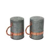 Better Homes & Gardens Galvanised and Copper Salt and Pepper Shaker Set