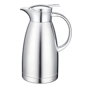1890ml 18/10 Stainless Steel Coffee Carafe Thermos Carafe Double Walled with press button Vacuum Carafe Insulated by Gabbay