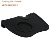 Silicone Espresso Corner Tamping Mat, Non-slip Coffee Tamper Station Barista Tamp Pad Tool