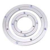 Heavy Duty Aluminium Alloy Rotating Bearing Turntable Round Dining Table Smooth Swivel Plate