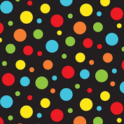 Fat Quarter Bright Spots Bugs & Critters Cotton Quilting Fabric 50 x 55cm Nutex