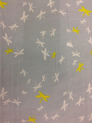 """Dress Fabric – 100% Cotton – 44 """" (110 cm) Wide - Dragonfly"""