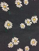 "Dress Fabric – 100% Cotton – 44 "" (110 cm) Wide - Navy Blue Polka Dot"