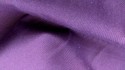 Plain Purple Cotton Twill Fabric - New off the roll - per metre