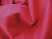 Cotton Canvas fabric - Deep Pink Colour - New off the roll - per metre