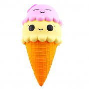 kids Cute Ice Cream decompression Toy,exquisite Fun Scented Squishy Charm Slow Rising Simulation Children Toy