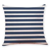 Voberry Simple Fashion Home Decor Cushion Cover Dark Blue Style Throw Pillowcase Pillow Covers For Car Sofa 45cm*45cm