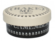 Creative Tops Stir It up Cheese Baker, Ceramic, Black/White, 38.1 x 38.1 x 43.18 cm