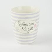 Mug Schön, dass es Dich gibt Porcelain Mug – Capacity 400 ml Breakfast