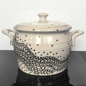 Vase Pot Soup Dish Ceramic Pot 2.5 L 1185