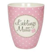 "Mug Favourite ""Mutti ist die Beste [Mum Porcelain Mug – Capacity 400 ml Breakfast"