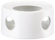 Arzberg 43330 10430-800001-14430 15075 Kitchen Friends White Teapot Warmer for Butterpf, Porcelain, White, 14.200000000000001 x 13.3 x 7.1 cm