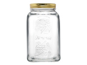 Dajar 74937 Home Made Preserving Jar 1500ml Pasabahce Glass, Clear/Yellow, 11 x 11 cm x 19.5 cm, 1 Units