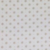 Curtain Fabric Decorative Fabric By the Metre Lisa Flowers Cream/Brown