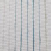 Savanna Curtain Fabric Decorative Fabric By the Metre Stripes Teal Mint