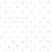 Cotton Fabric - Fat Quarter - Clothworks - Madeline - Triple Dot White