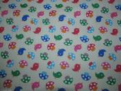 Tweety Bird Cream Dress Fabric –Polycotton – 112 cm wide