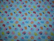 Tweety Bird Blue Dress Fabric –Polycotton – 112 cm wide