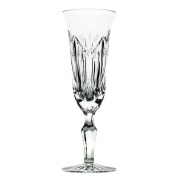 Bohemia Crystal Lady Glasses Champagne Flute talladas, Glass, 7 x 7 x 20 cm, Pack of 6
