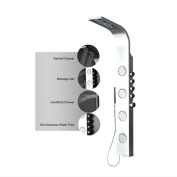 Luxier Stainless Steel Pressure Balance Massage Tower Shower Panel System