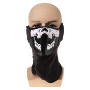 StarShine Super Cool Led Mask, Colours Luminous Light for Men Women Rave Mask Music Party, New Year decoration