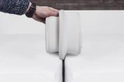 TIURE Bed Bridge Mattress Connector - Premium finish - Hypo-Allergenic foam - 1.9m x 17cm - Twin (non XL) and Full matresses - Storage bag included
