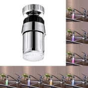 LED Shower Head,HARRYSTORE Kitchen Sink 7Color Change Water Glow Water Stream Shower LED Faucet Taps Light