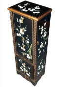 Blossom Jewellery Armoire / Jewellery Box, Chinese & Oriental Furniture