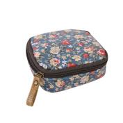 Dolland Cute Cartoon Coin Purse Waterproof Zipper Sanitary Napkin Cosmetic Storage Bag,Small floral