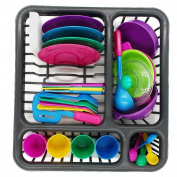 Childrens Durable Kitchen Toys Tableware Dishes Play set