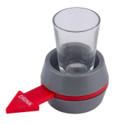 huichang Portable Spin The Shot Drinking Game Shot Glass Spinner For Home Party Supply Universal