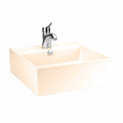 Above Counter Bathroom Vessel Square Bone China | Renovator's Supply